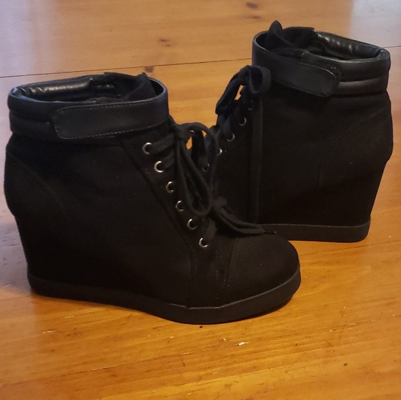 1d1d9ddf68f H M Divided Shoes - H M bootie wedge shoes